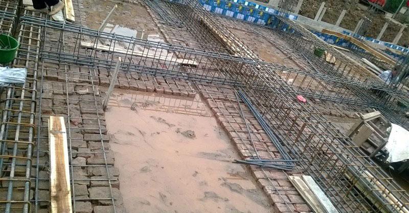 Công tác bê tông cốt thép trong thi công móng nhà cao tầng