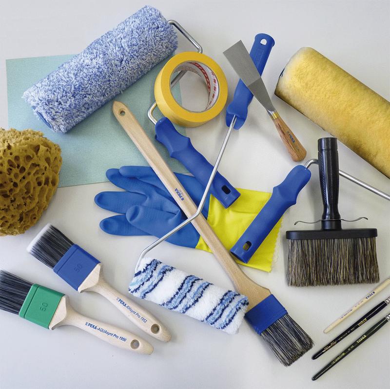 Dụng cụ cần thiết khi thi công sơn